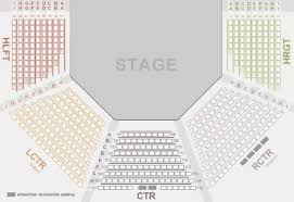 Porthouse Theatre Seating Chart Kent Stage Seating Chart