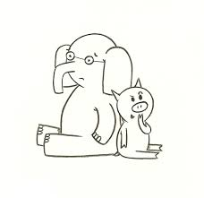 Small Picture elephant and piggie coloring pages Google Search KIDS
