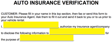 Your car insurance provider should automatically send you proof of insurance in the mail, and may also let you download and print proof of if you have valid insurance and have not received proof of insurance, or if you have lost it, contact your insurance provider's customer service line. Free Auto Insurance Verification Letter Pdf Word Eforms
