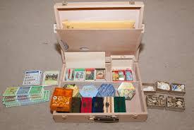 Wooden Box Board Games Progressive Odyssey Board Game Storage Catan 65