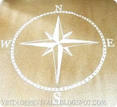 compass rose area rug round