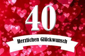Rubinhochzeit Glückwünsche Zum 40 Hochzeitstag