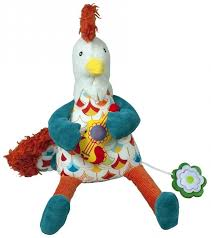 <b>Ebulobo</b> Музыкальная <b>игрушка Петушок</b> Боб купить в Краснодаре