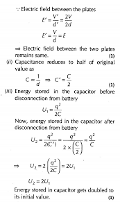 important questions for class 12 physics cbse capactiance
