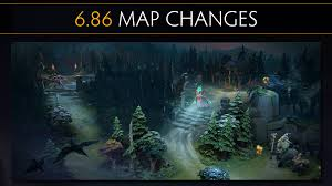 dota 2 6 86 map changes youtube