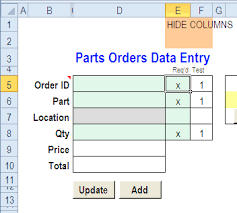 Forms Templates Excel Excel Data Entry And Update Form