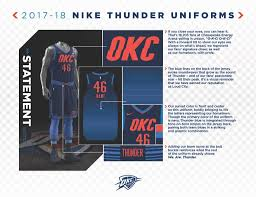 Okc New Jersey Design Thunder Reveals New Statement Edition Alternates Welcome