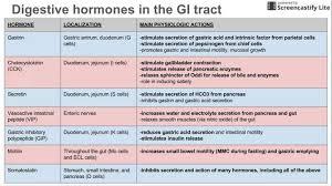 8 Major Digestive Enzymes Chart Digestive