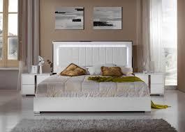 Modern White Bedroom Set   -
