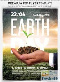 Desirefx Com Download Earth Day V02 2018 Flyer Psd