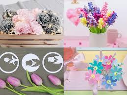 Diy Blumen Basteln 8 Schöne Ideen Für Eure Frühlingsdekoration