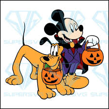 Dog Pumpkin Halloween Mickey Mouse, Mickey Mouse svg, Mickey Mouse png –  SuperSvg