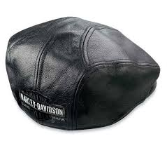 harley nostalgic leather hunting cap 99 561 04v