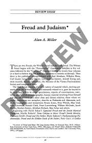 freud and judaism review essay the rabbinical assembly freud and judaism review essay