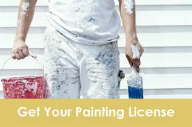 c 33 painting license