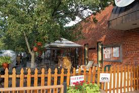 the westover beer garden outdoor seating area