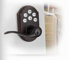 keypad front door lockSmartCode Electronic Lever with Touchpad  Kwikset Locks
