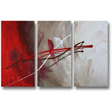 abstract art canvas painting red brown white wall art paintings on red white wall art with abstract art canvas painting red brown white wall art paintings