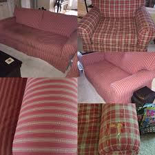Best Alan White Couch Loveseat & Oversized Chair for sale in