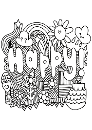 Printable Coloring Pages For Adults Landscape Download Free Book
