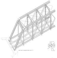 free model railroad plans pratt truss bridge