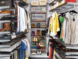 how to organize a walk in closet on a budget