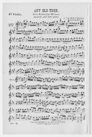 Any old tree - 1st violin | Library of Congress