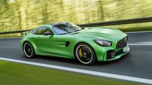 It's the 577bhp, mad as a badger Mercedes AMG GT R   Top Gear