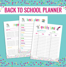 free school planner printables free back to school planner printable 24 7 moms