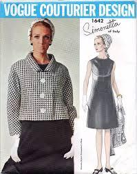 Simonetta Designer Vogue Couturier Design 1642 Simonetta Designer Sewing