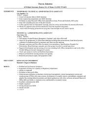 Office Admin Resume Samples Resume Sample Format For Administrative Assistant