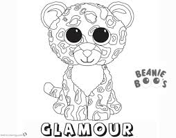 Coloring Beanie Boo Printable Coloring Pages Kiki Dog