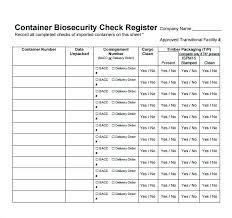 Printable Blank Checkbook Register Sample Check Worksheet For