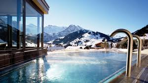 eight of the best pools in the world on the road the journal relax after a day on the slopes in this hot outdoor pool mrandmrsmith com