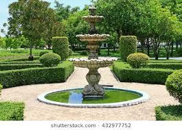 garden fountain. Contemporary Garden The Fountain In Garden For Garden Fountain Shutterstock