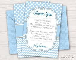 Thank You Cards Baby Shower Baby Shower Thank You Cards Etsy