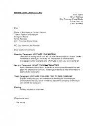 cover letters outline ahoy job cover letter format