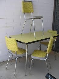 Retro Kitchen Furniture Retro Kitchen Chairs Chrome Cliff Kitchen