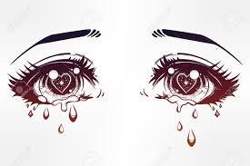 anime eyes crying. Plain Eyes Anime Eyes Crying Beautiful Eyes In Or Manga Style With Teardrops  And Light Reflections And Anime Eyes M