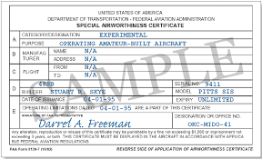 faa form 8130 7 airworthiness certificate