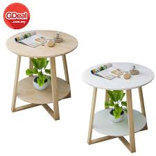 simple living room small coffee table wood round table h36