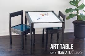 art table ikea latt hack youresomartha com