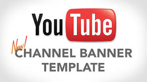 youtube channel banners youtube banner template new channel design youtube