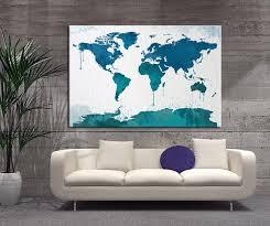 c grande good world map wall decor