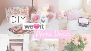 DIY Pastel Spring Room Decor Tumblr / Weheartit Inspired | MakeupbyMe -  YouTube