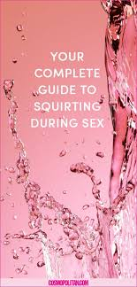 Do girls squirt during sex