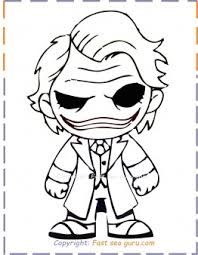 Lego the joker coloring page. Baby Joker Coloring Pages To Print Out Free Kids Coloring Pages Printable