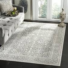 grey 8x10 area rug grey and white chevron rug 8x10