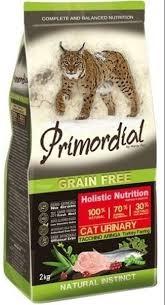 <b>Сухой корм Primordial Grain</b> Free Cat Urinary беззерновой для ...