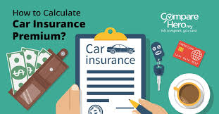 how to calculate car insurance premium